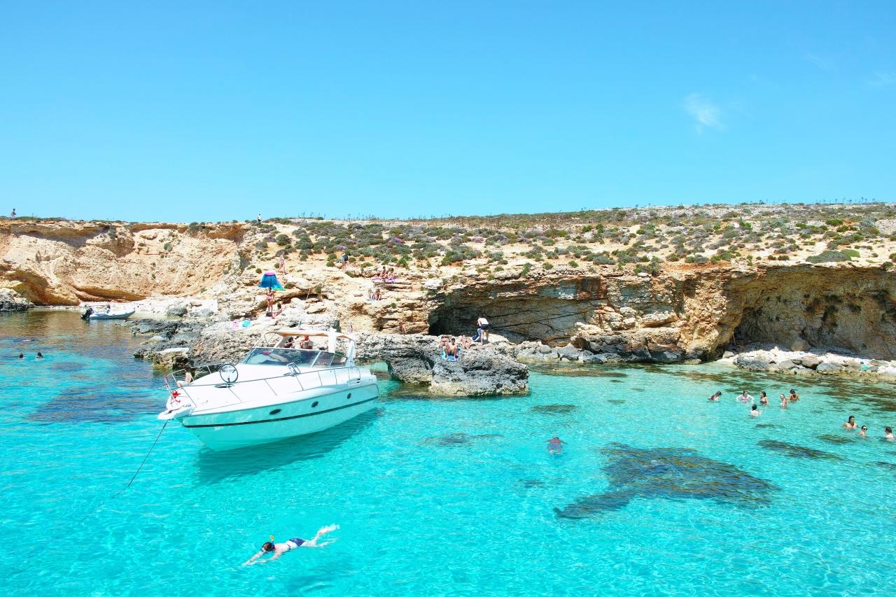 地中海のど真ん中、マルタ共和国...