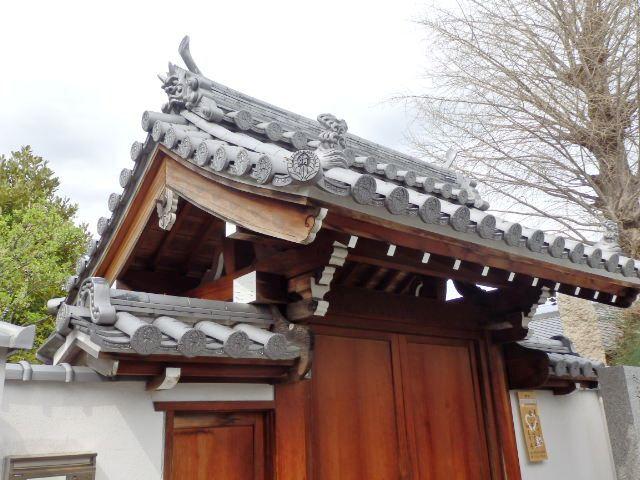 日本の旅 関西を歩く 大阪府枚方市の牧野公園、清岸寺'周辺の桜