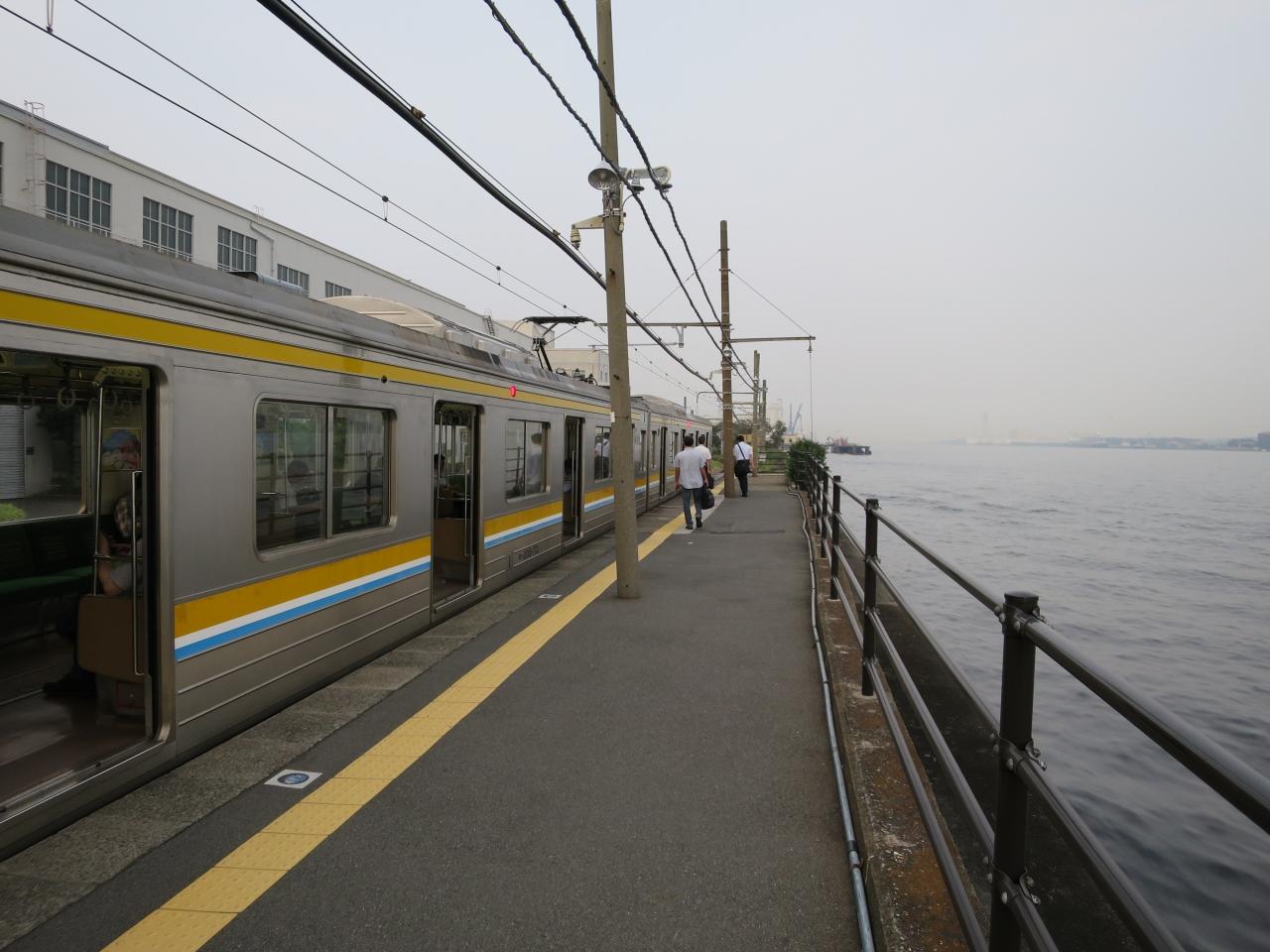都会の秘境駅 鶴見線海芝浦駅へ行く