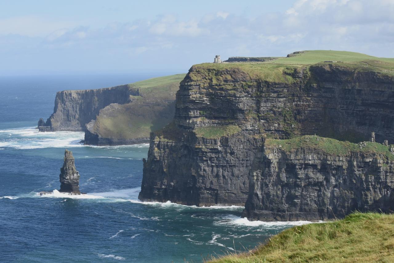 モハーの断崖を歩く、北へ南へ』...