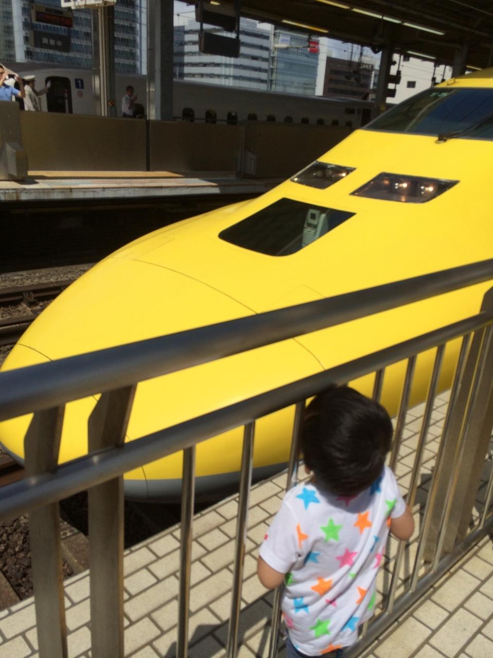 3歳夏休み☆いろいろな新幹線を見ました(e5系e6系e7系 ドクターイエロー