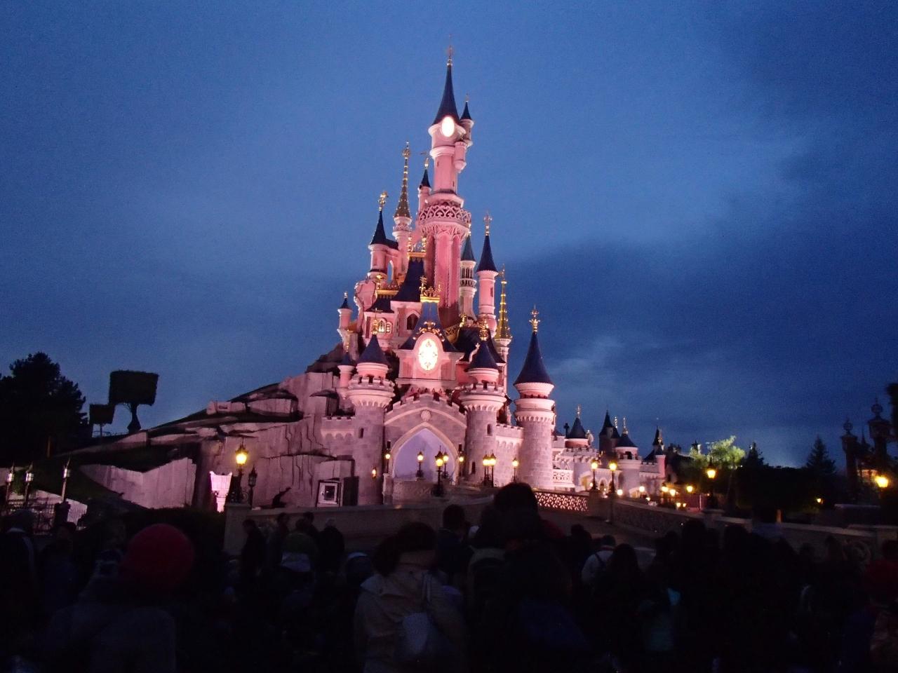 ディズニーランドパリの年パス購入&パリ観光』ディズニーランド