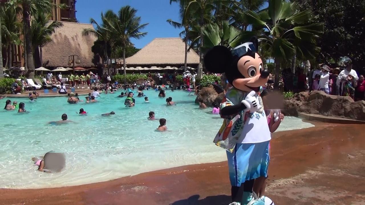 2014年夏 ハワイ旅行 オアフ島コオリナ編 (2日目:アウラニ