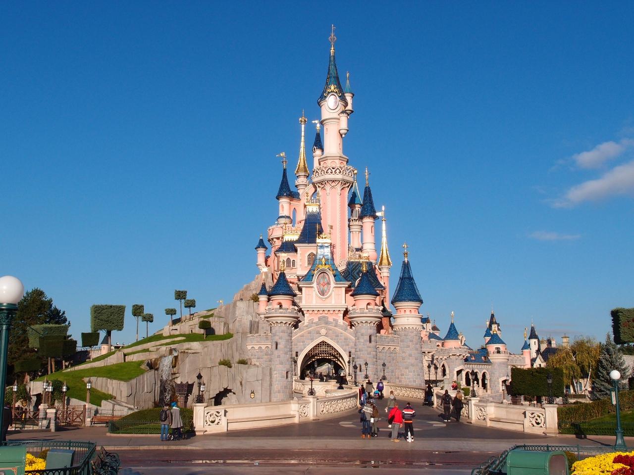 転職記念に思い切ってパリ旅行 (最終日-ディズニーランド)』パリ