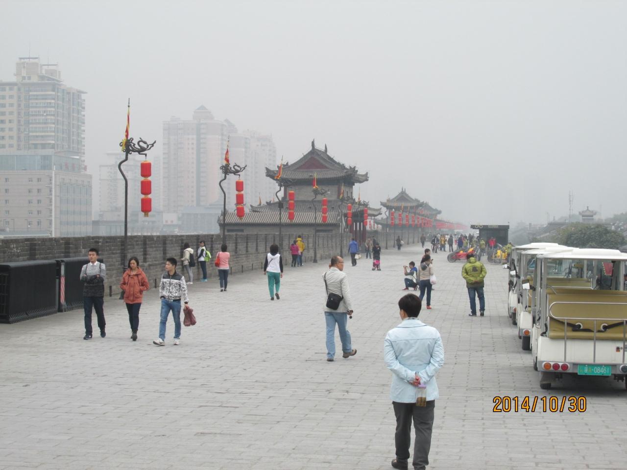 西安の南城壁と永寧門』西安(中...