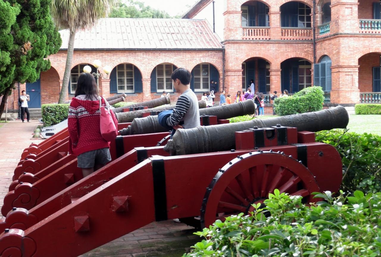 2014秋、台湾旅行記10(6):11月19日(4):淡水、紅毛城、古砲、イギリス ...