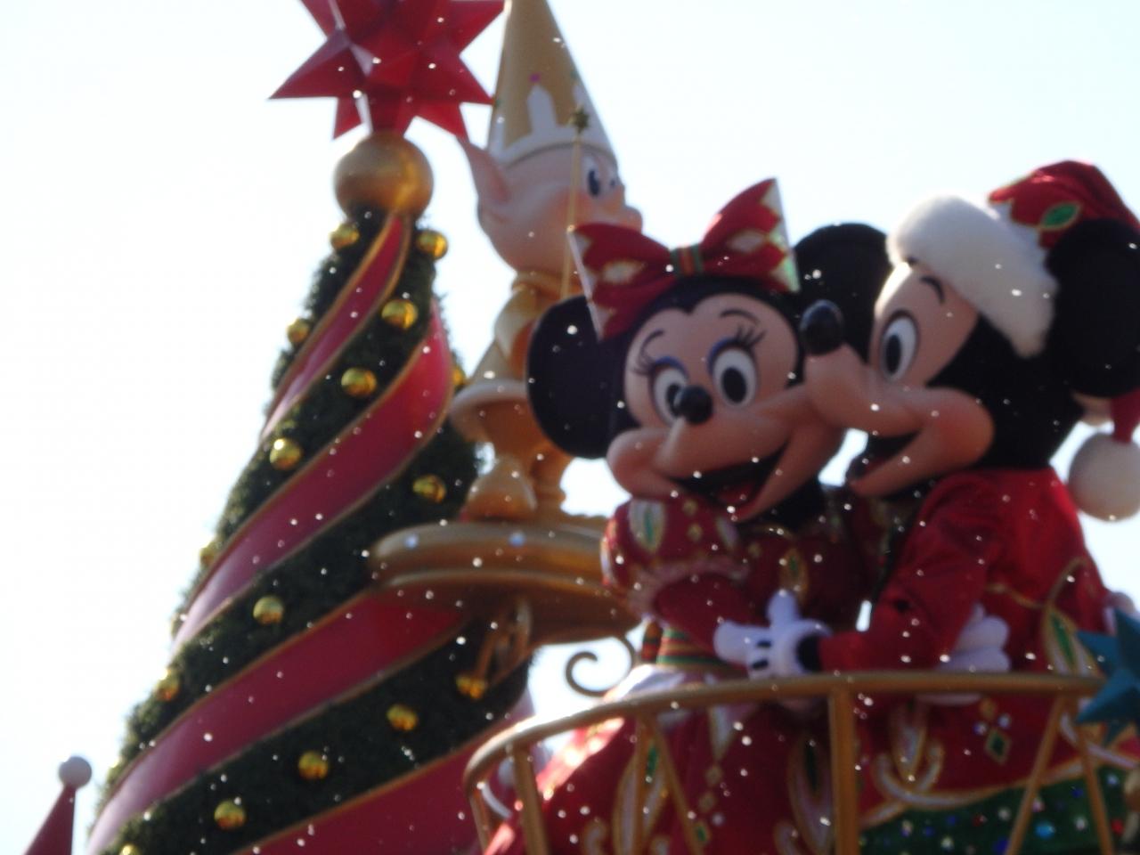 ディズニーランドクリスマス パレード+ワンマン』東京ディズニー