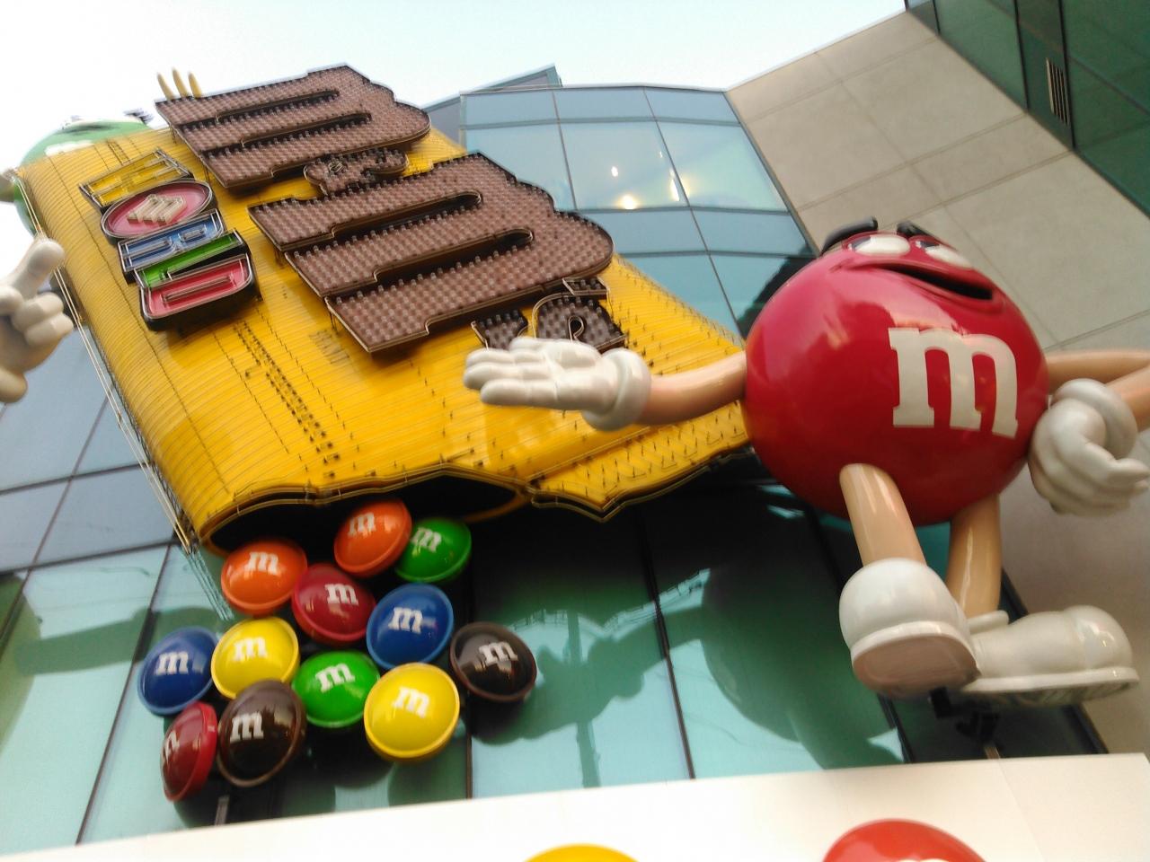 自分だけのm Mを作ろう M M S World ラスベガス ネバダ州 アメリカ の旅行記 ブログ By Vegas Mama Vegasmama4 さん フォートラベル