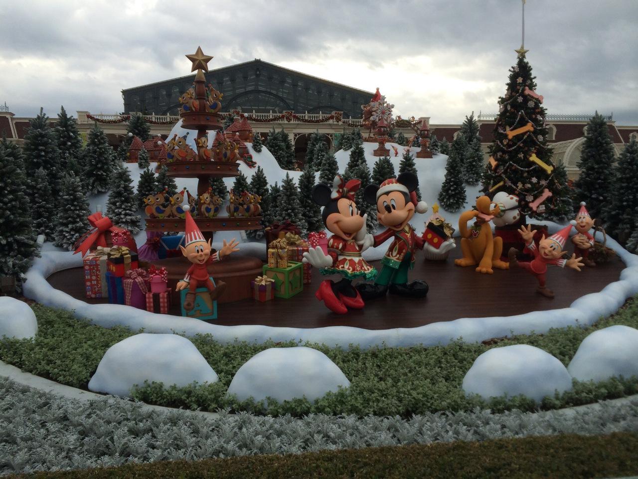 初めてクリスマスシーズンのディズニーリゾートへ』東京ディズニー