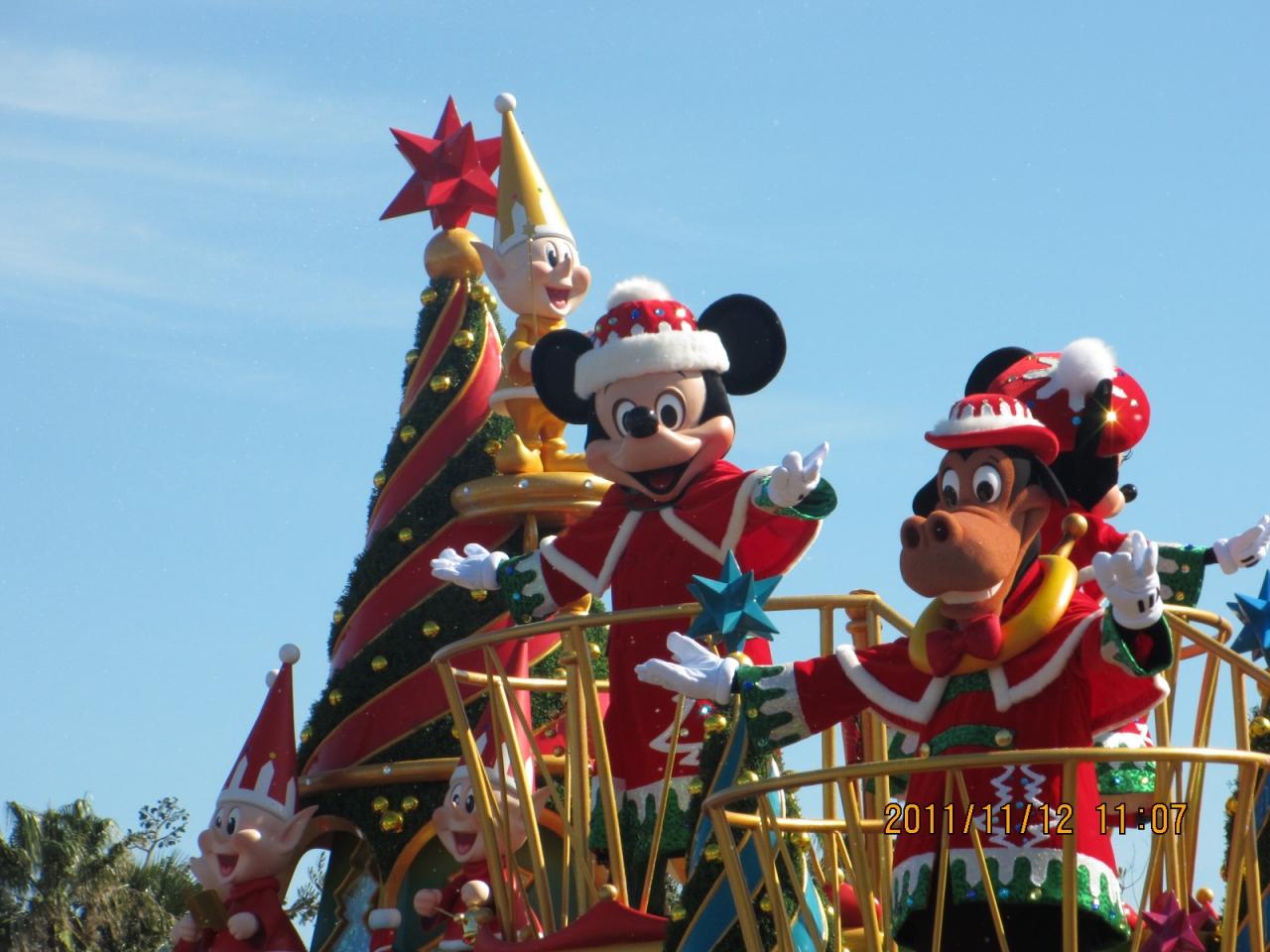 ディズニー2011年11月』東京ディズニーリゾート(千葉県)の旅行記