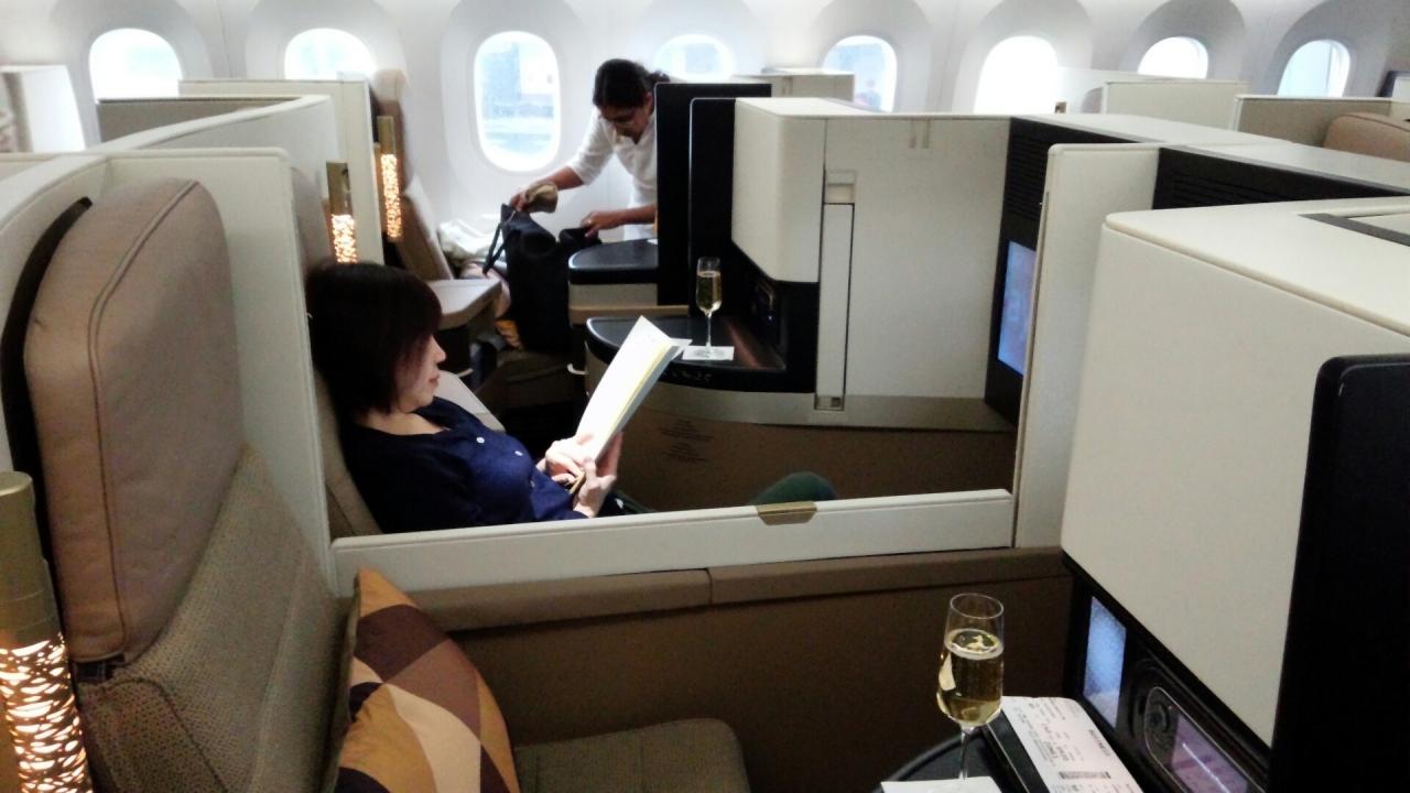 『エティハド航空ビジネスクラスでヨーロッパとUAE2015(5)新 ...