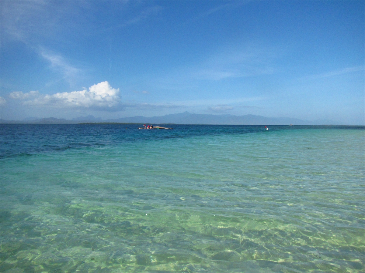 旧正月フィリピン13★ホンダ湾★アイランド ホッピング!パンダン アイランド