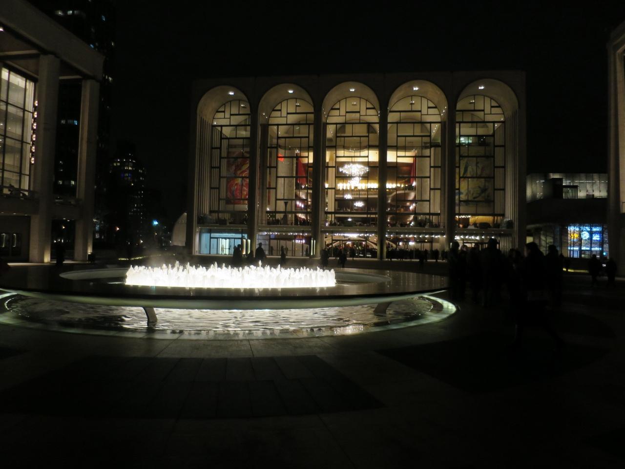 2015年2 3月久しぶりのニューヨークでオペラ三昧 メトロポリタン歌劇場