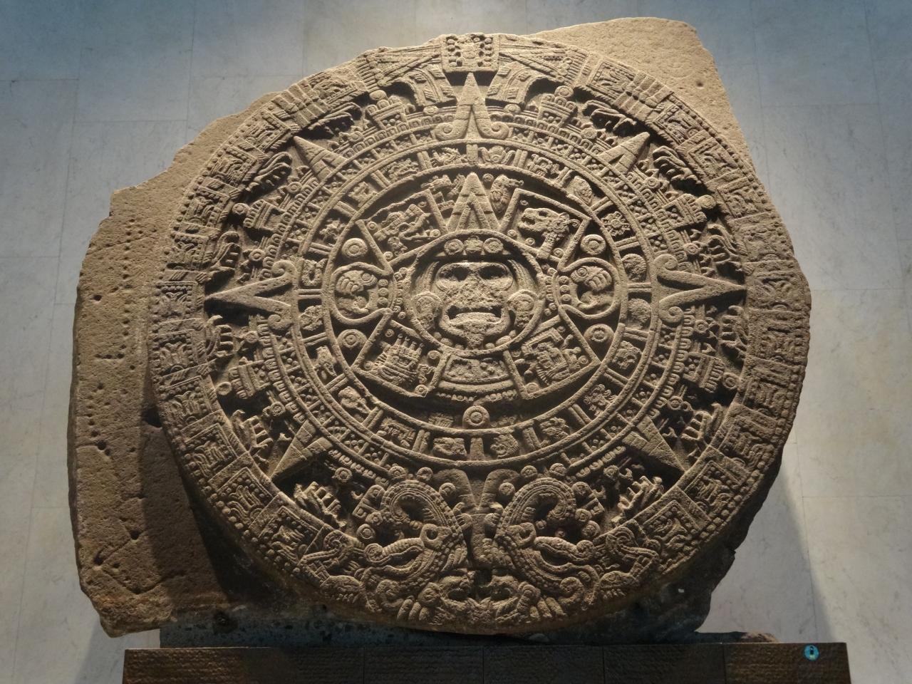 メキシコ国立人類学博物館 (ア...