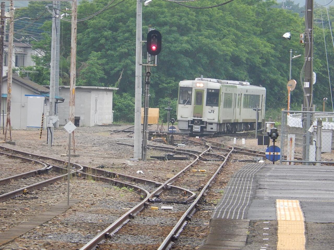 5月19日、上福岡駅より東武東上線に乗り、寄居