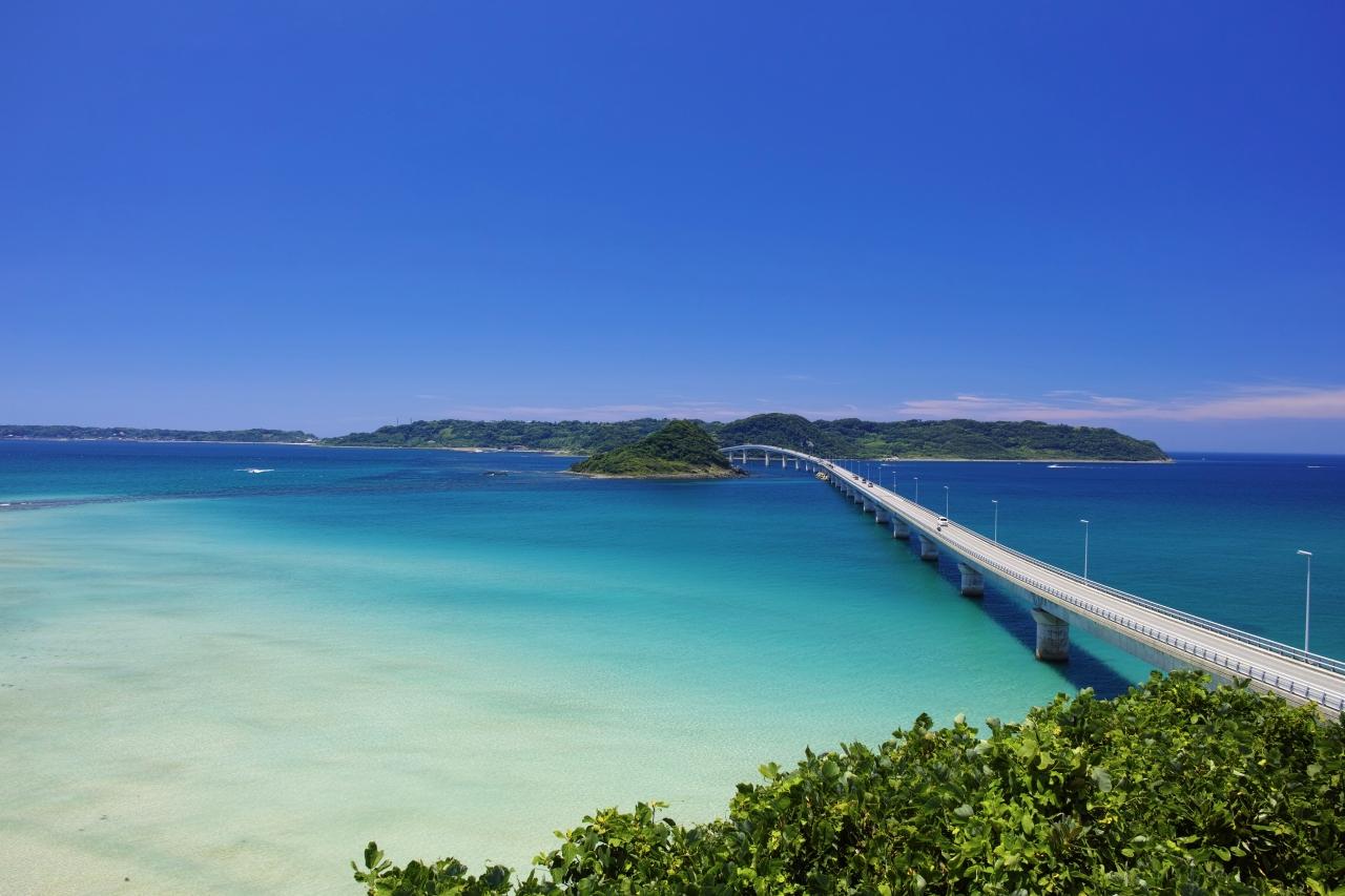 『蒼い海に延びる美しい大橋~角島大橋~』角島・下関北部 ...