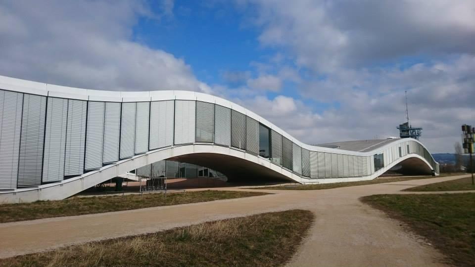 SANAAローザンヌ連邦工科大学ラーニングセンターアップ