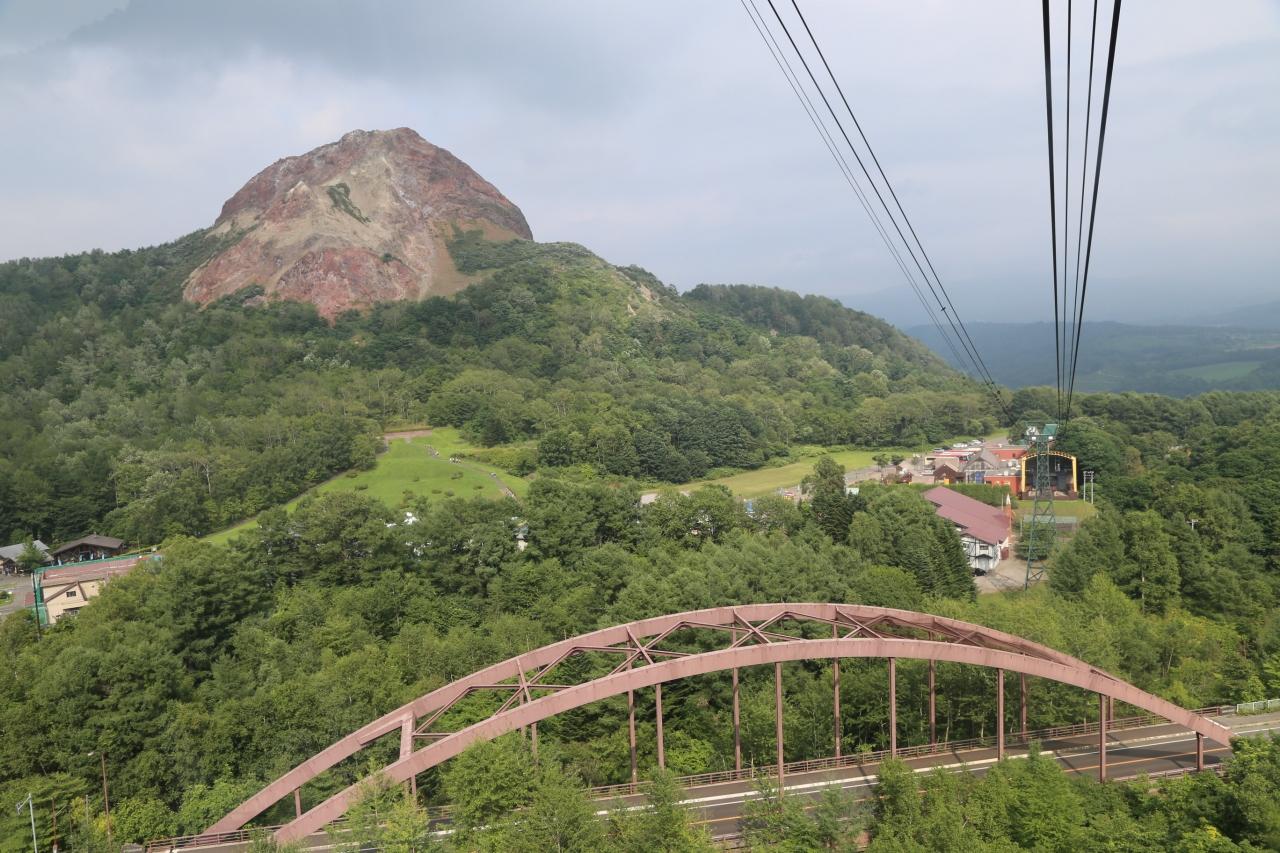 昭和新山からロープウェーで有珠...