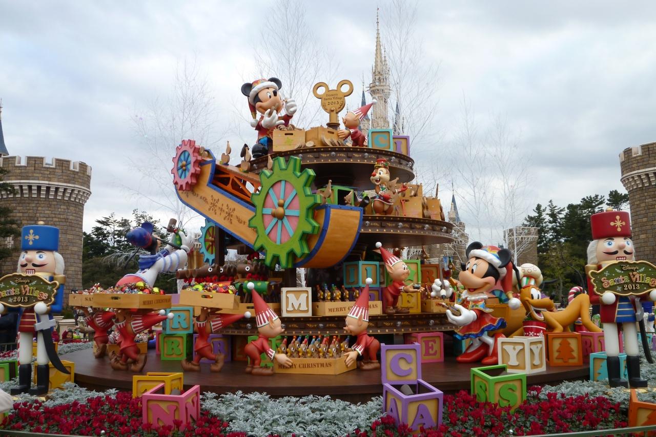 2013年12月23日 東京ディズニーランド クリスマスも30周年も