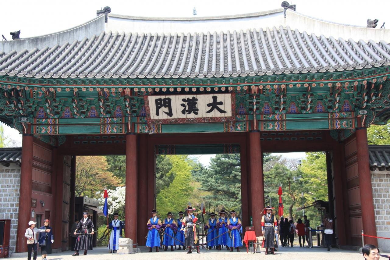 ソウルにある景福宮など4つの古...