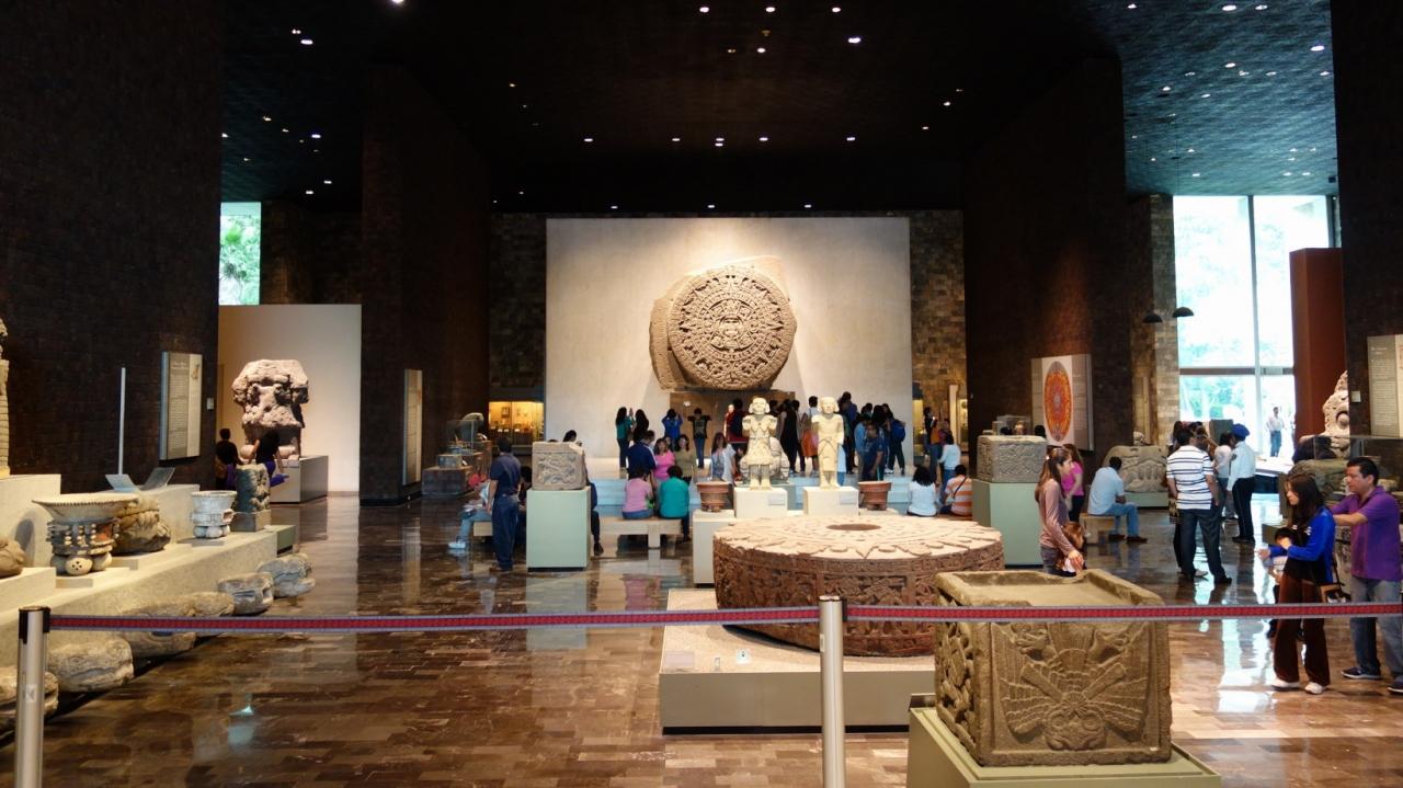 2015秋メキシコの旅 ~その3 メキシコ国立人類学博物館
