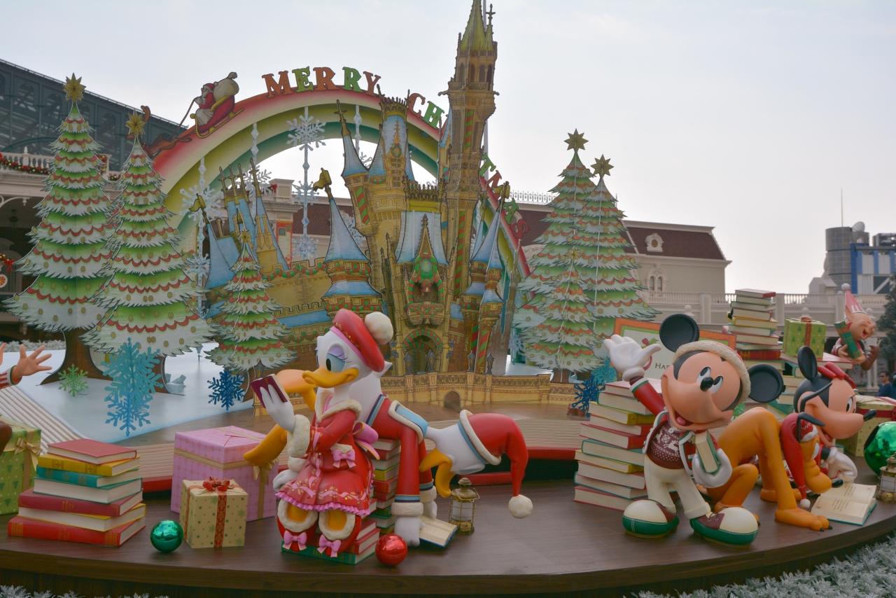 一足早くクリスマス♪ 東京ディズニーランド』東京ディズニーリゾート