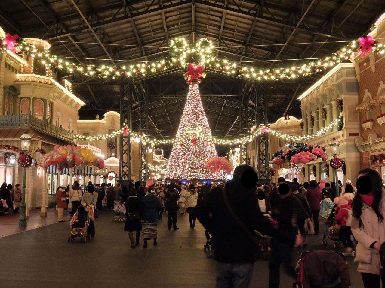 クリスマスシーズンのTDR』東京ディズニーリゾート(千葉県)の旅行記