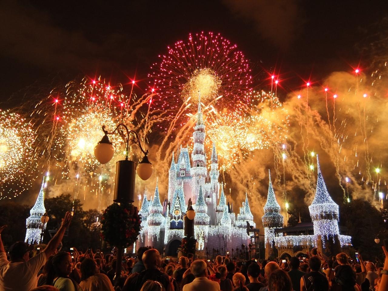 2015年 年末年始 ディズニーワールド(9) マジックキングダム3