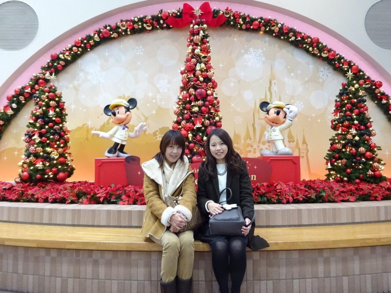 恒例♪母と娘のディズニーシー(*^^*)』東京ディズニーリゾート(千葉県