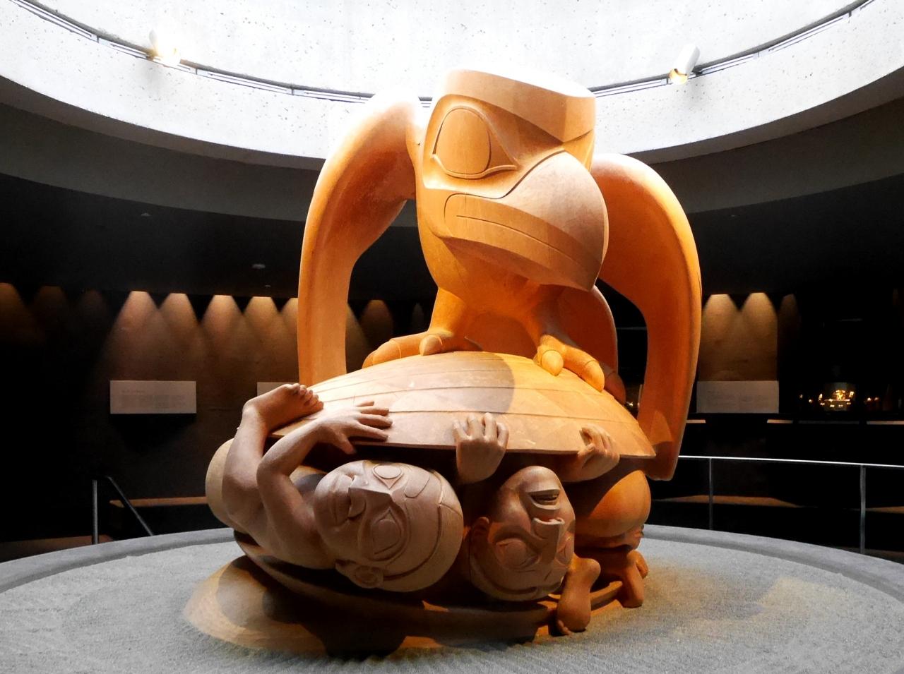 バンクーバー学会旅行5-UBC MOA(ブリティッシュ・コロンビア大学人類学博物館)2 First Nations の民俗文化を中心に