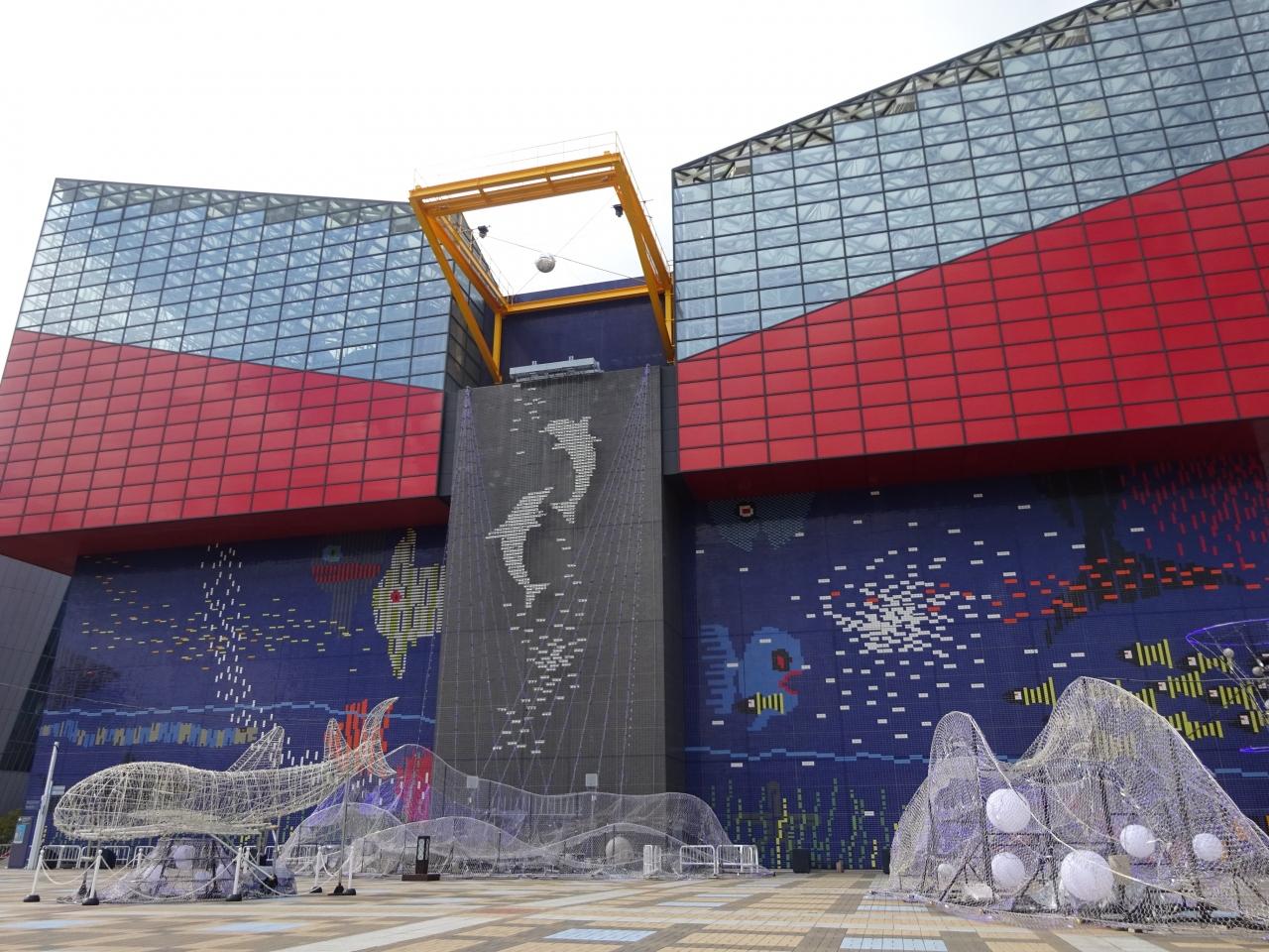 jalマイルで格安旅行☆還暦母と共に大阪旅行!3日目 海遊館~大阪城