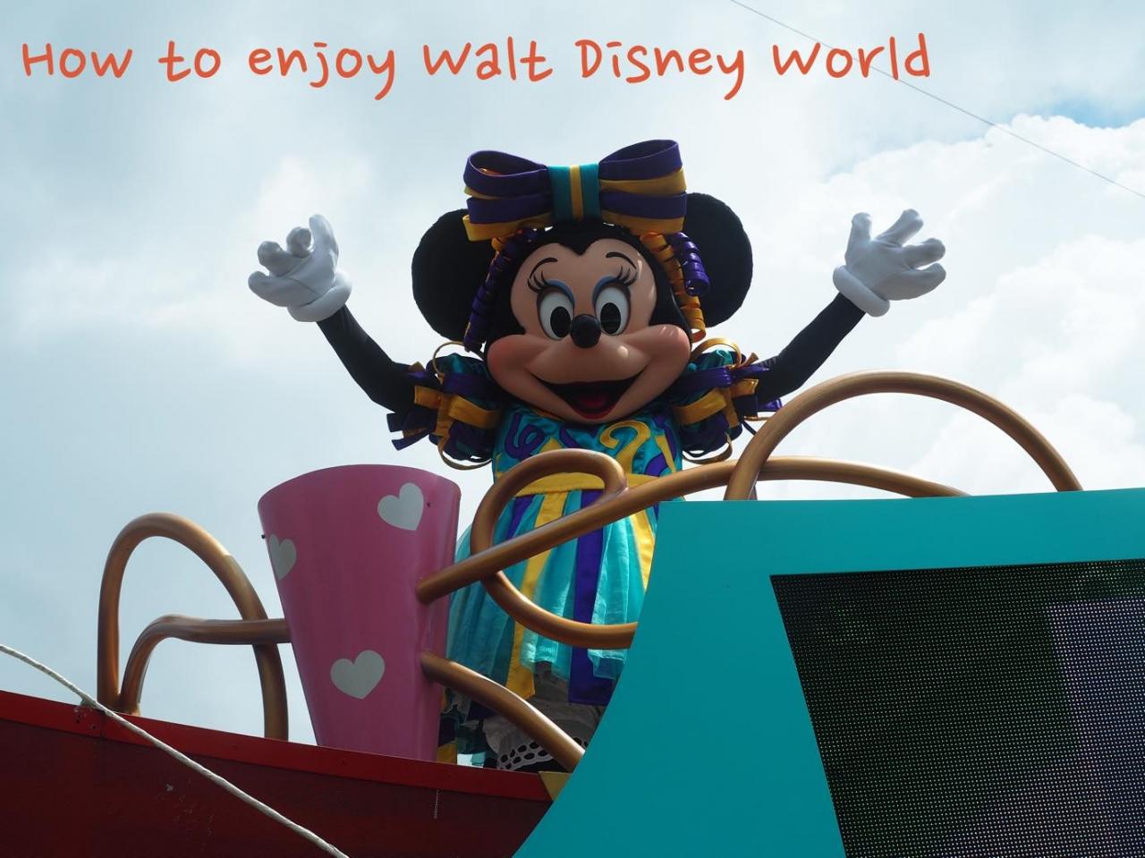 フロリダ旅行 ウォルトディズニーワールド どのパークに行く
