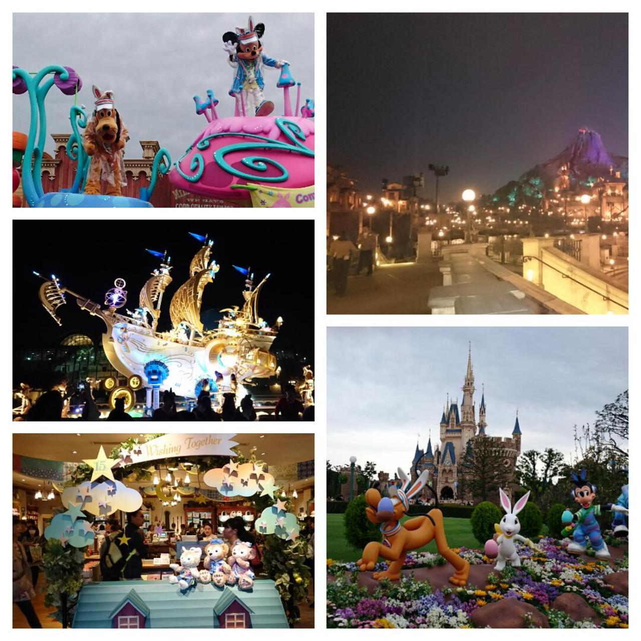 強風のシー&雨のランド』東京ディズニーリゾート(千葉県)の旅行記