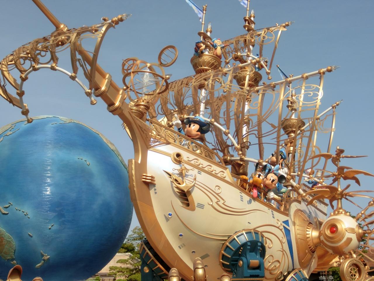 ディズニーシー15周年とディズニーランド「ディズニー・イースター」を