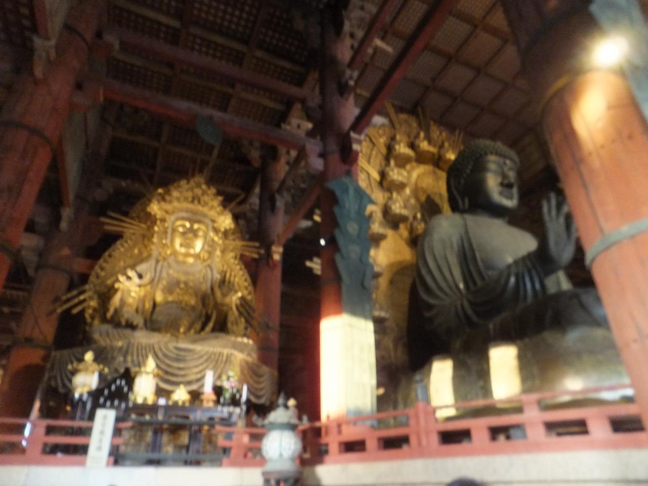 6b3c30f6e9 2015 初奈良マラソンと関西観光【その4】何十年ぶりかの奈良の大仏 ...