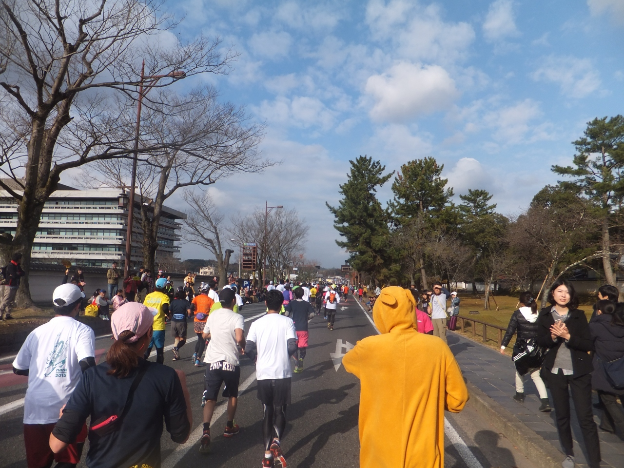 31111f8607 2015 初奈良マラソンと関西観光【その10】なんとかゴール。』奈良市 ...