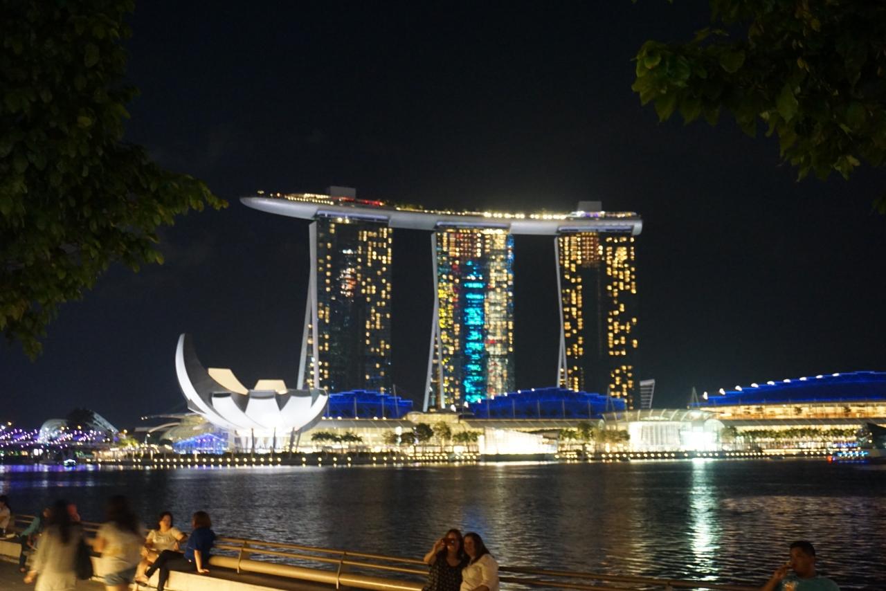 シンガポール旅行☆マリーナベイ...