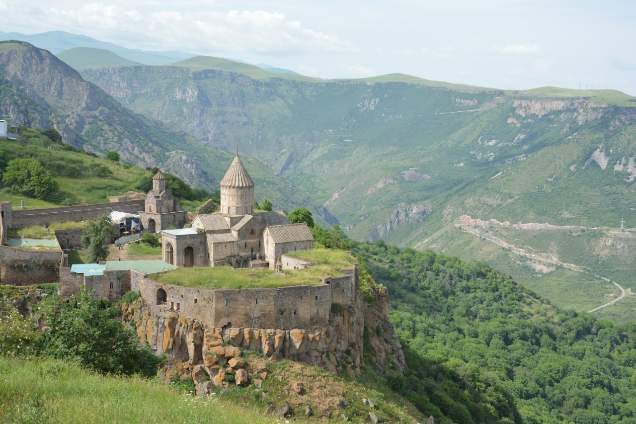 コーカサス一人旅【8】絶景のアルメニア修道院巡り<後編>