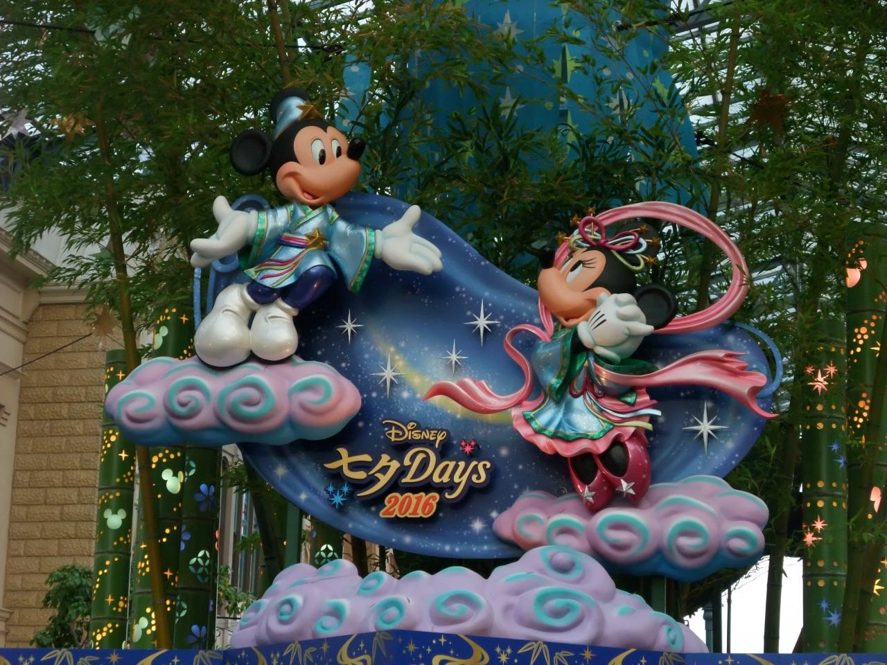 東京ディズニーランドのディズニー七夕days2016』東京ディズニーリゾート