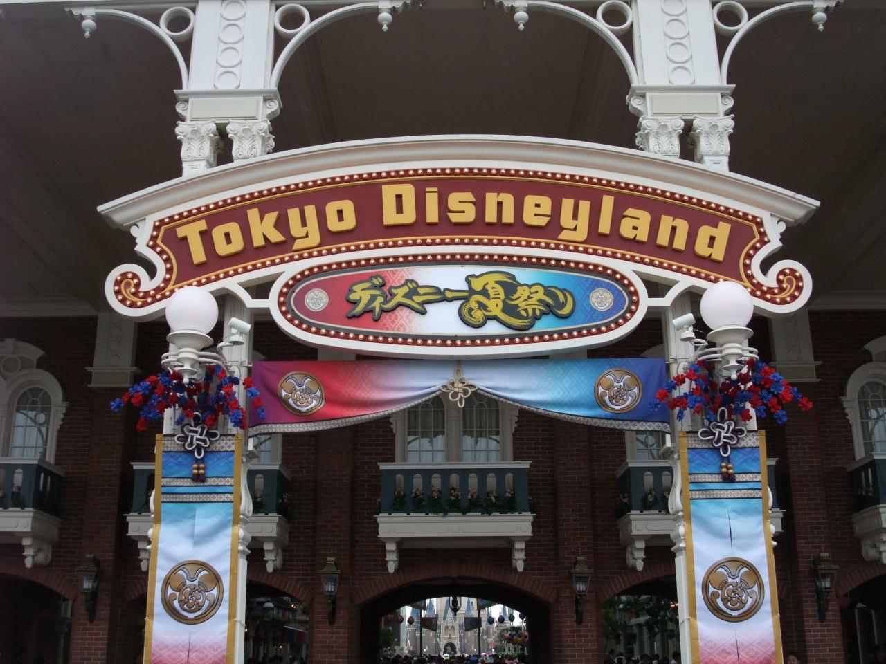 2016年ディズニー夏祭りに行ってみた!』東京ディズニーリゾート(千葉県