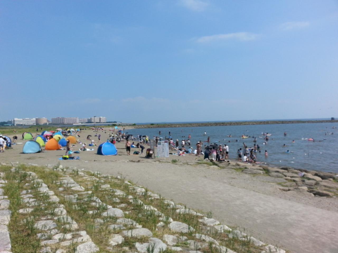 公園 葛西 海水浴 臨海
