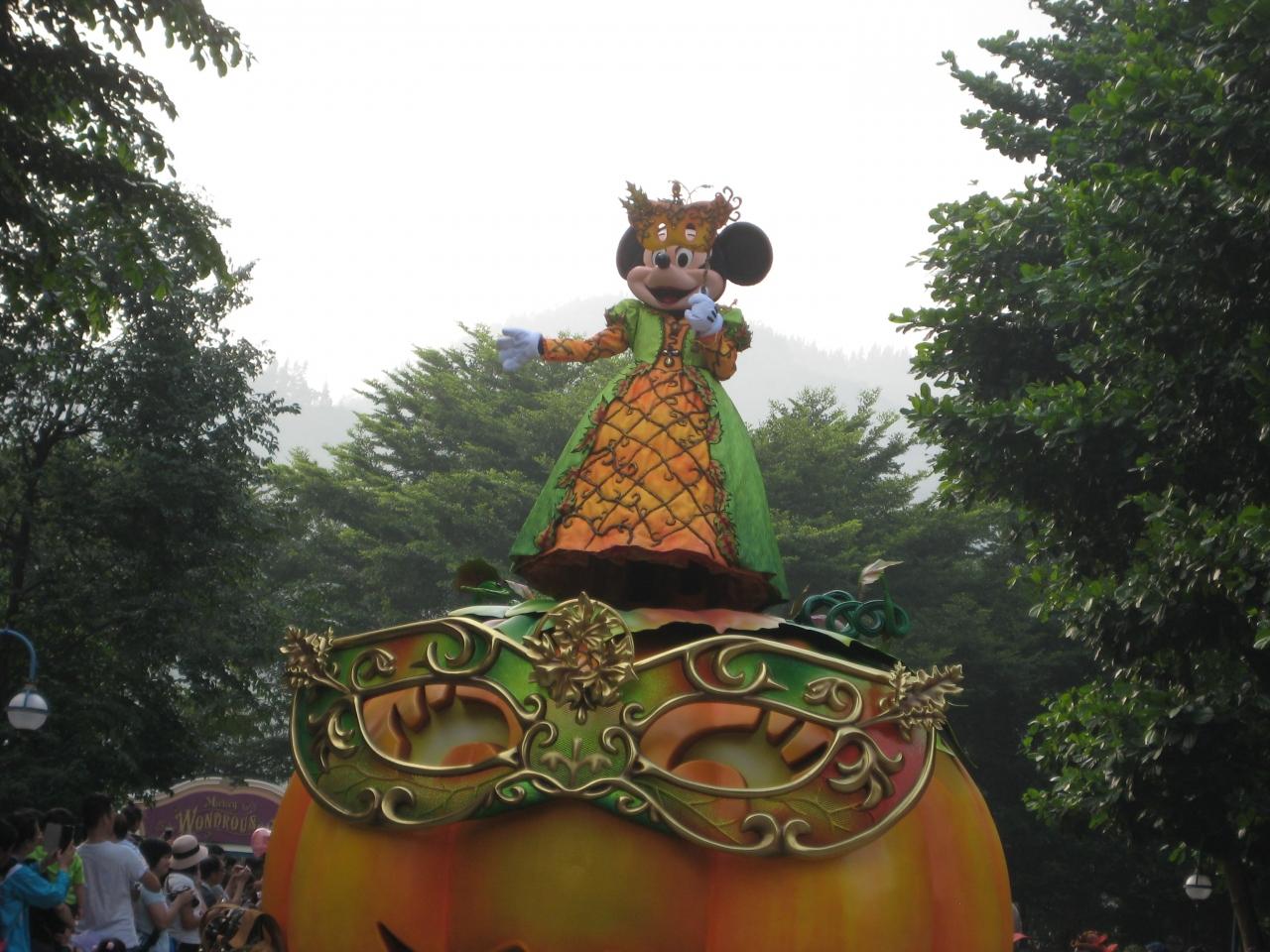 香港家族旅行3日目~香港ディズニーランド・ハロウィンパレード』香港