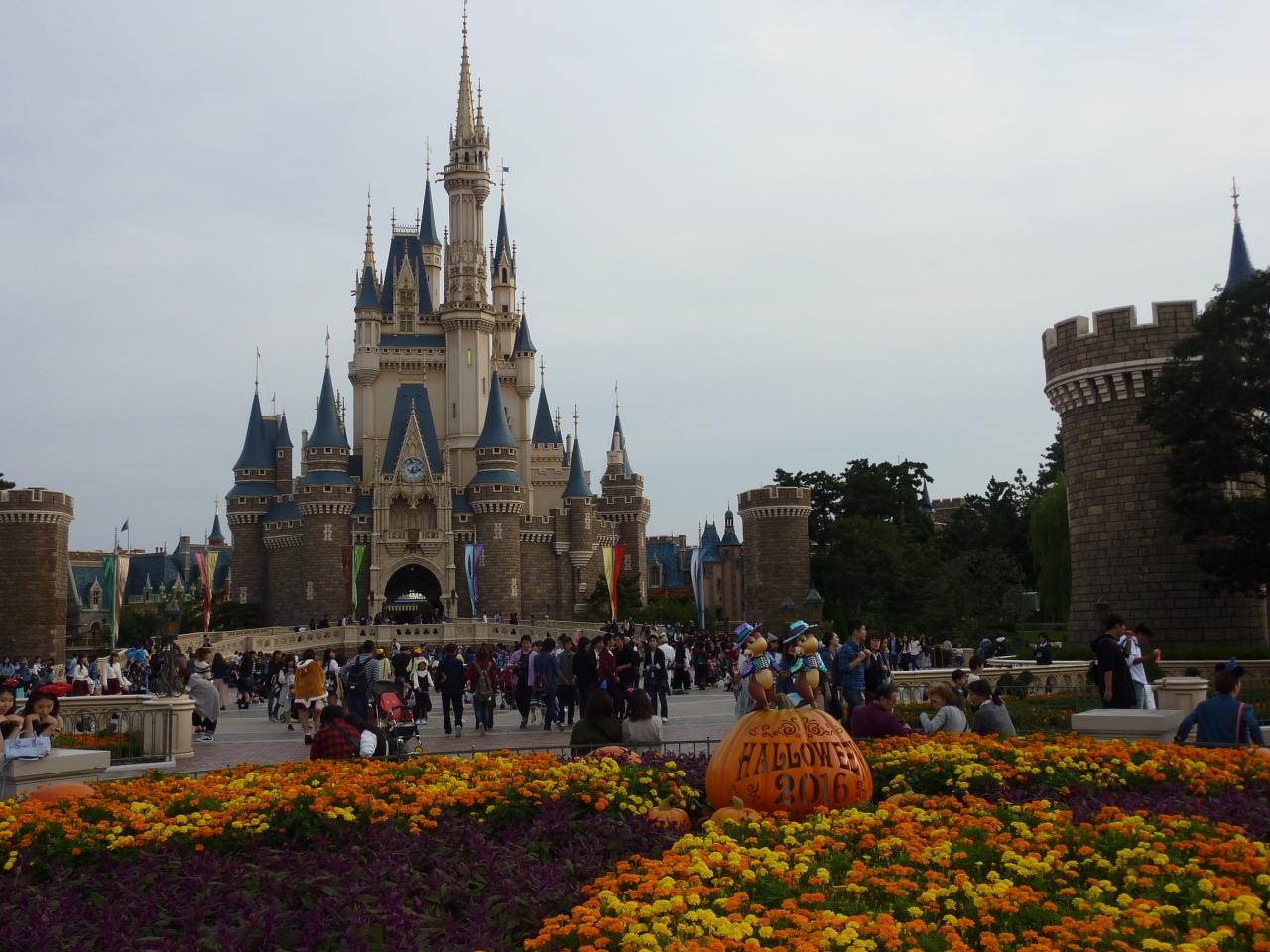 今年3度目の東京ディズニーランドのディズニー・ハロウィーンとついにと