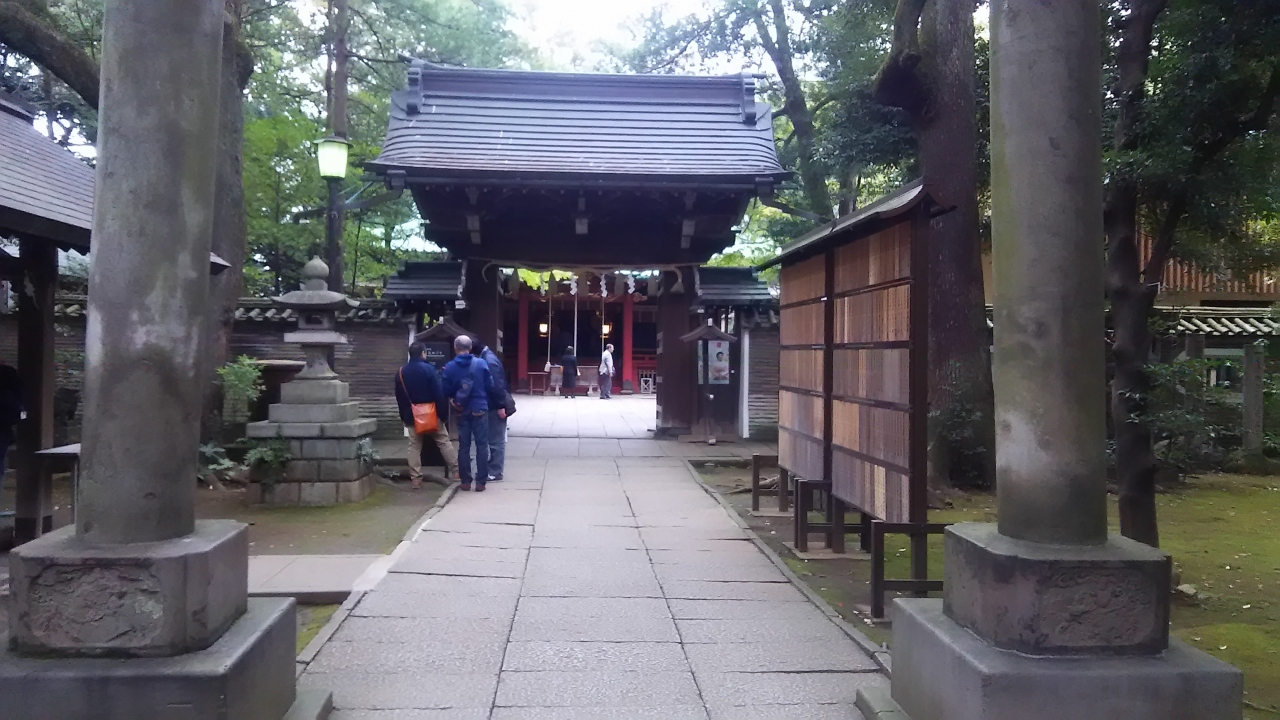 氷川 神社 赤坂
