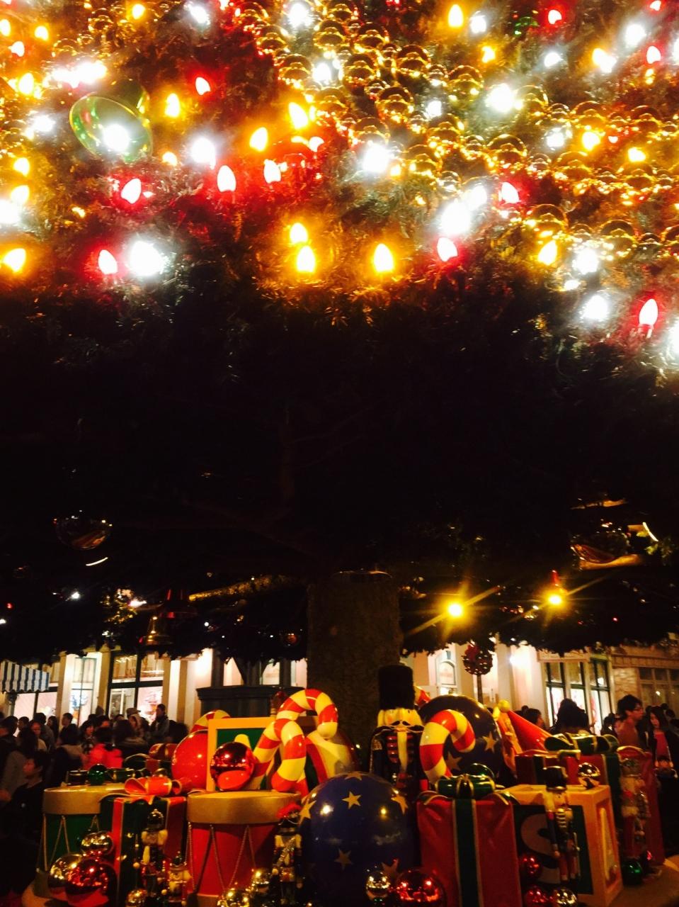 クリスマスディズニーランド2016』東京ディズニーリゾート(千葉県)の旅行