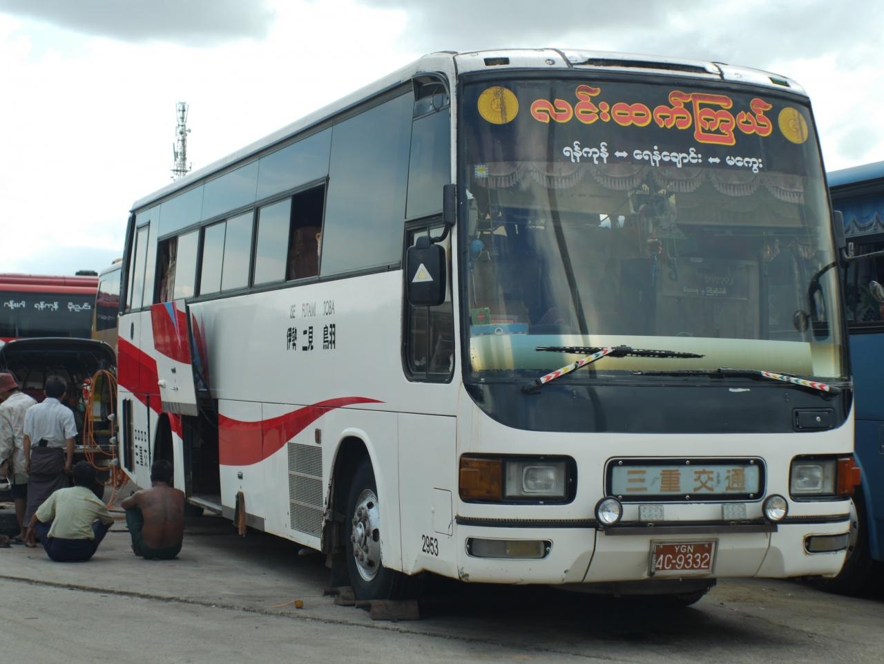 日本退役バスさんの新天地、ミャ...