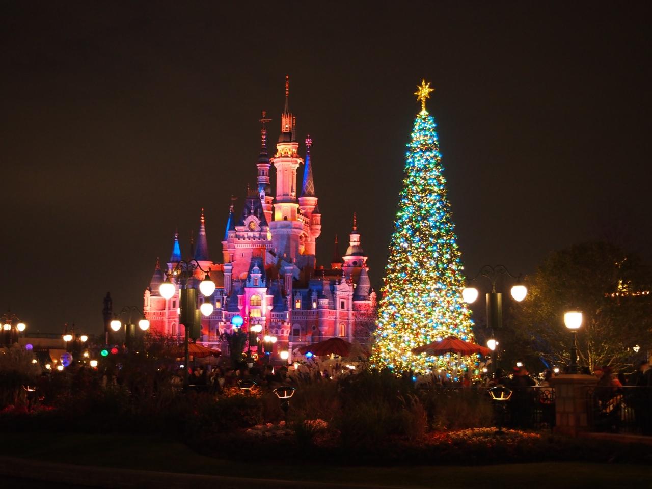 クリスマスin上海ディズニーランド上海中国の旅行記ブログ By