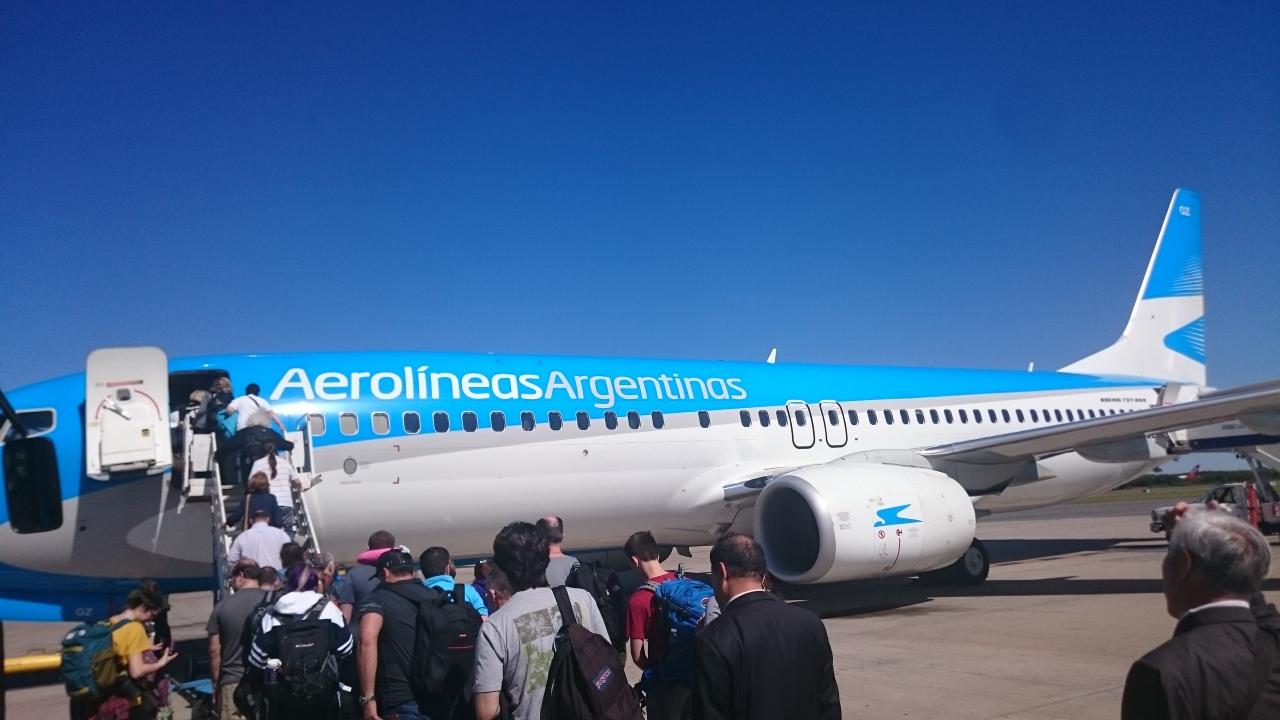 アルゼンチン航空を利用した旅行...