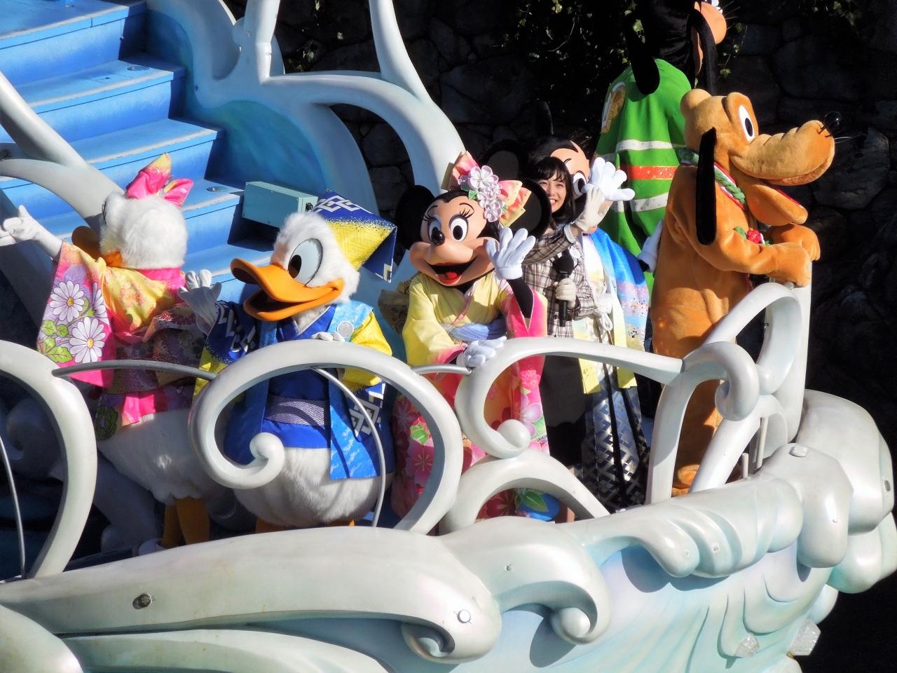 2017年元旦 ディズニーリゾートのお正月を堪能 大阪人 ①はじまり