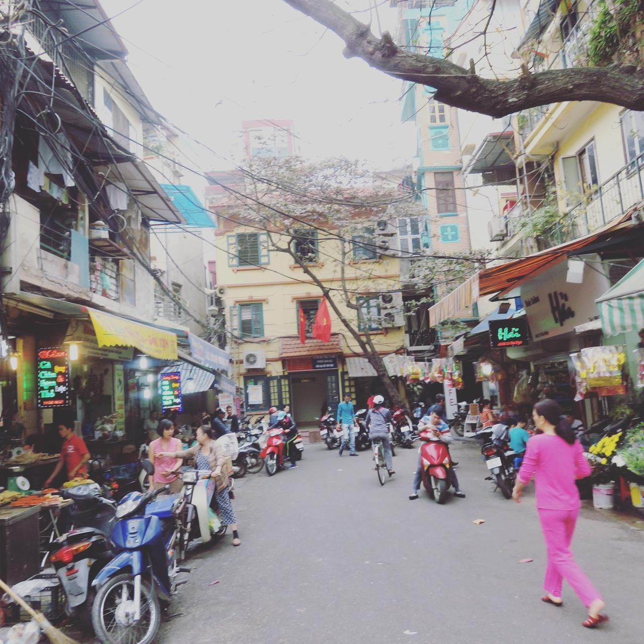1月の三連休プラス1日でベトナムのハノイに行ってきまし